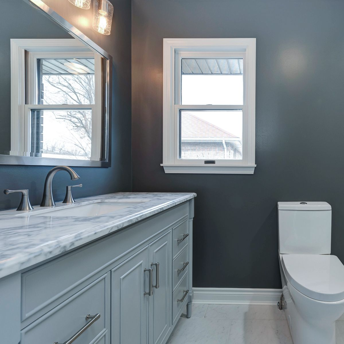 From Old To Updated Bathroom Remodel Bathroom Wall Tile Trendy Bathroom Tiles Amazing Bathrooms