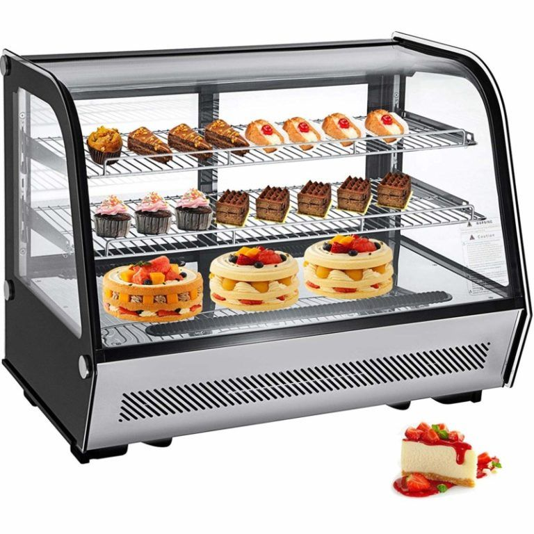 Top 10 Best Refrigerator Display Case For Cake In 2020 In 2020 Bakery Display Case Bakery Display Display Case
