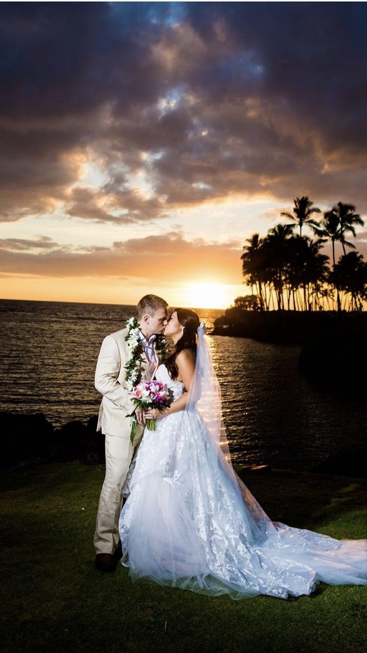 "7dfa5238745a4 Hawaiian Destination Beach Wedding / Sunset Wedding / Blush by Hayley Paige  ""Lulu"" Wedding Gown from J Bridal in Tucson, Arizona #weddingdress # hayleypaige ..."