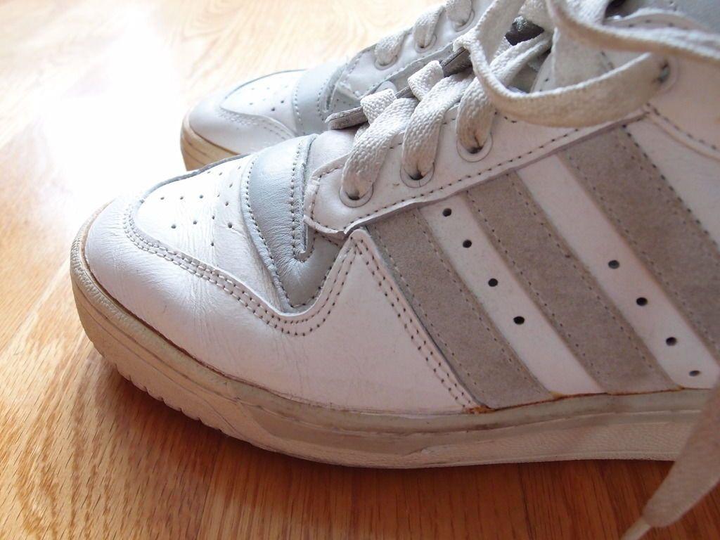 80er Vintage OG Adidas Rivalry Knicks in 47, 47, 47, Made