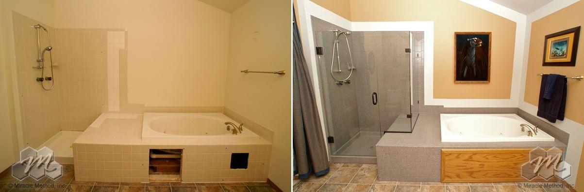 Miracle Method Photo Gallery Kitchen And Bath Corner Bathtub Bathtub