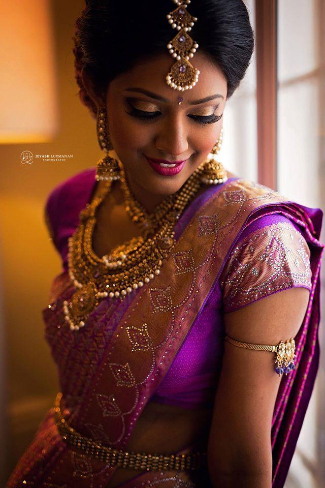Tamil Bride … | South indian bride hairstyle, Indian bridal, Bride