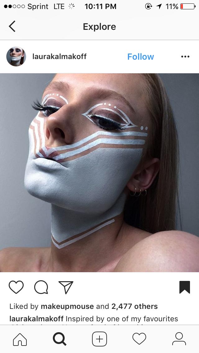 Pin de jm en Makeup (con imágenes) Maquillaje artístico