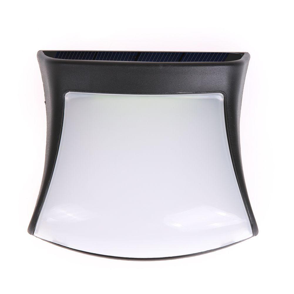 3 Led Solar Lamp For Garden Decoration Waterproof Wall No Wiring Wirless Pir Motion Light Sensor Powered Brace Type