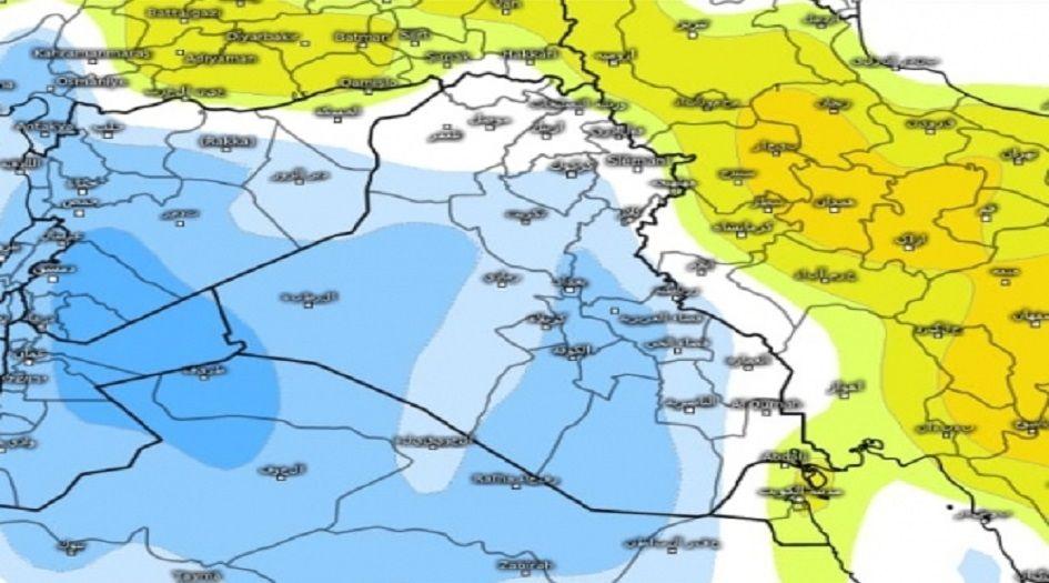 درجة الحرارة في العراق