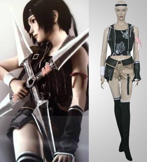 Yuffie Kisaragi Final Fantasy Cosplay Discount For Sale