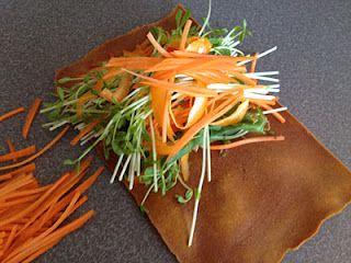 Sweet Potato Wrap Raw Vegan Recipes Raw Vegan Vegan Recipes