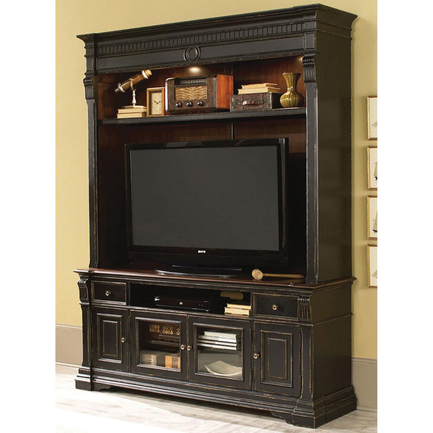 Hammary dorset entertainment console with hutch furniture u home