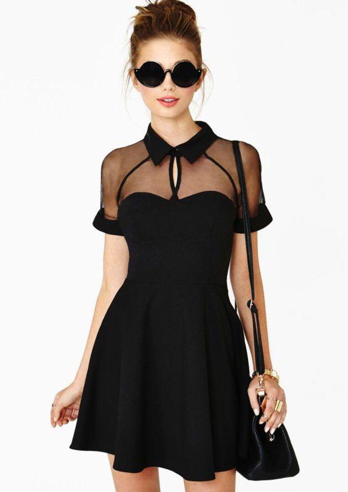 ▷ Ein paar tolle Ideen, wie Sie ein schwarzes Kleid kombinieren ...