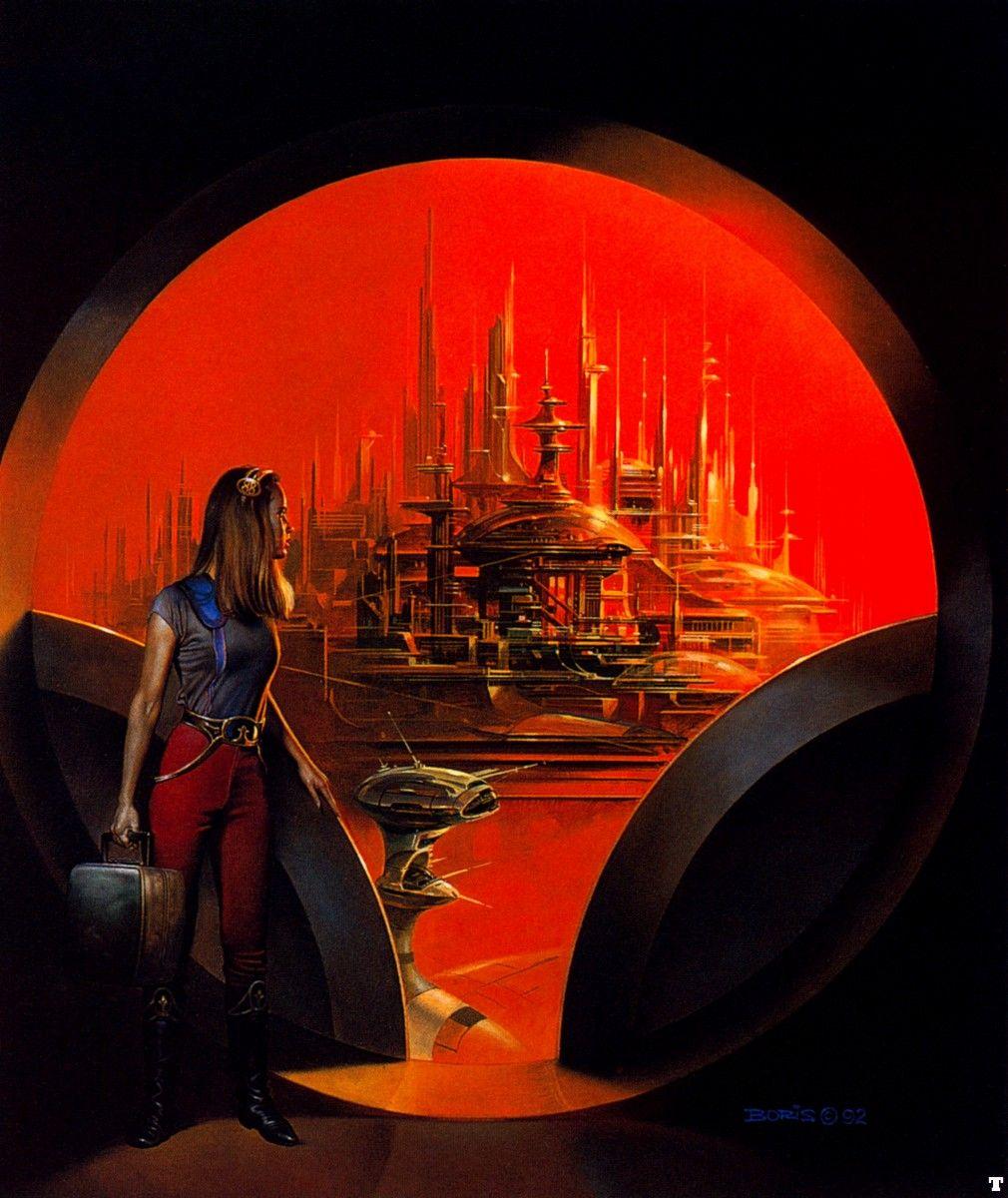 Vintage Sci Fi Illustrations Retro Science Fiction: Classic Sci Fi Illustrations #8 Boris