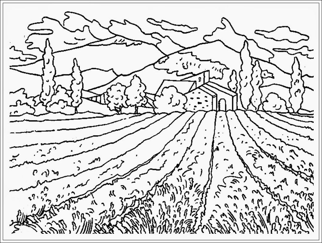 Amazing Coloring Today 1582187789 Coloring Pages Pemandangan