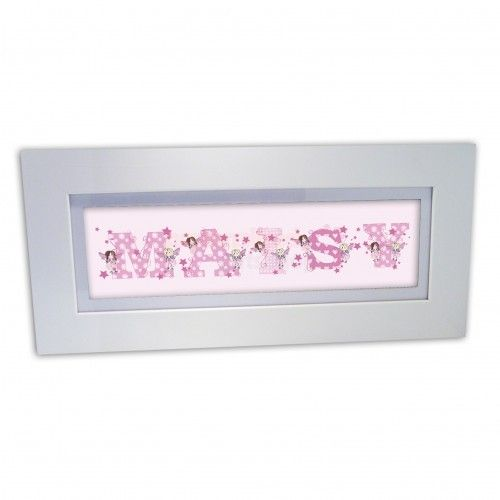 Personalised Fairy Letter Name Frame from Personalised Gifts Shop