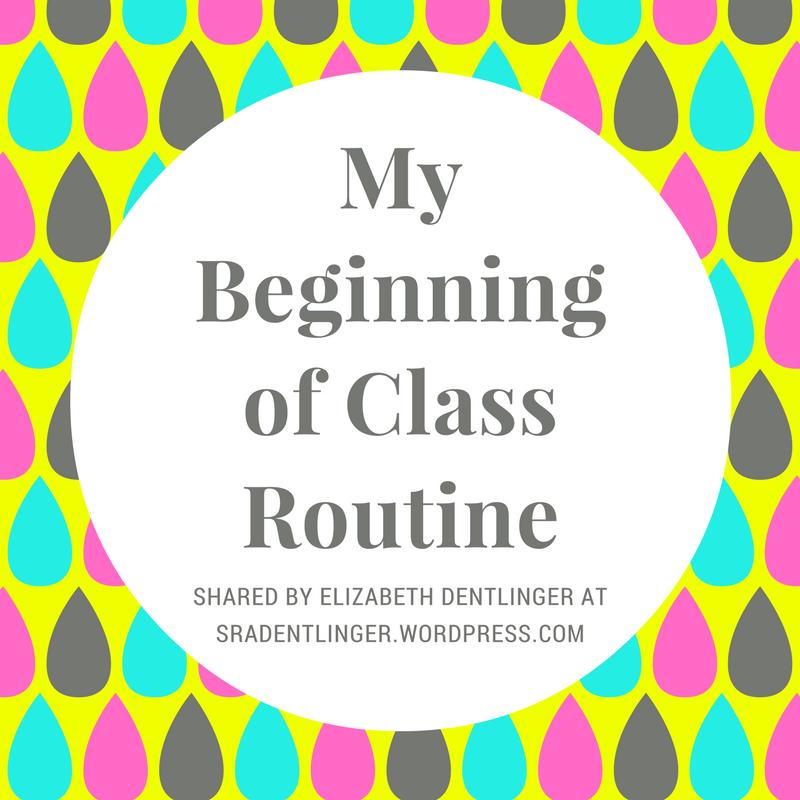 my beginning of class routine teaching spanish teaching spanish