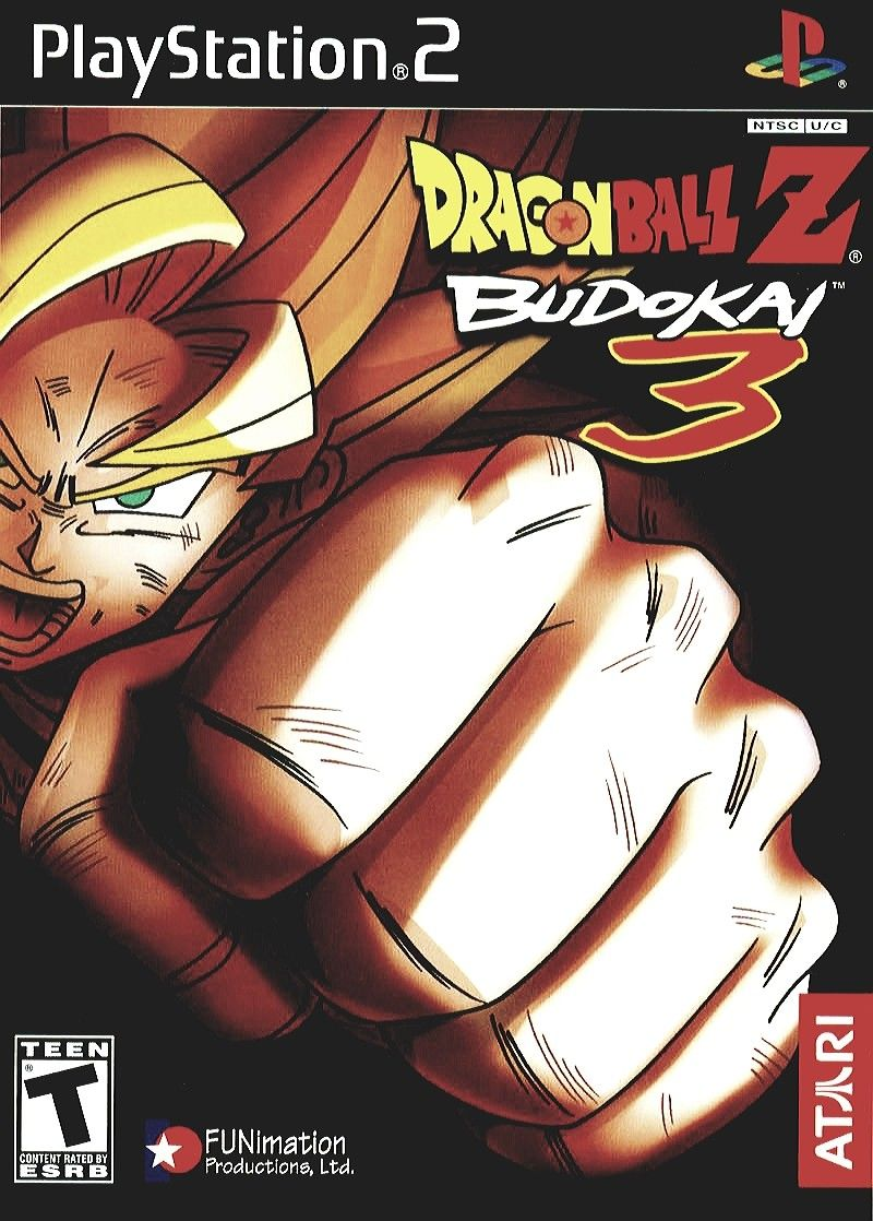 Dragon Ball Z Budokai 3 Dragon Ball Z Dragon Ball Video Game Covers