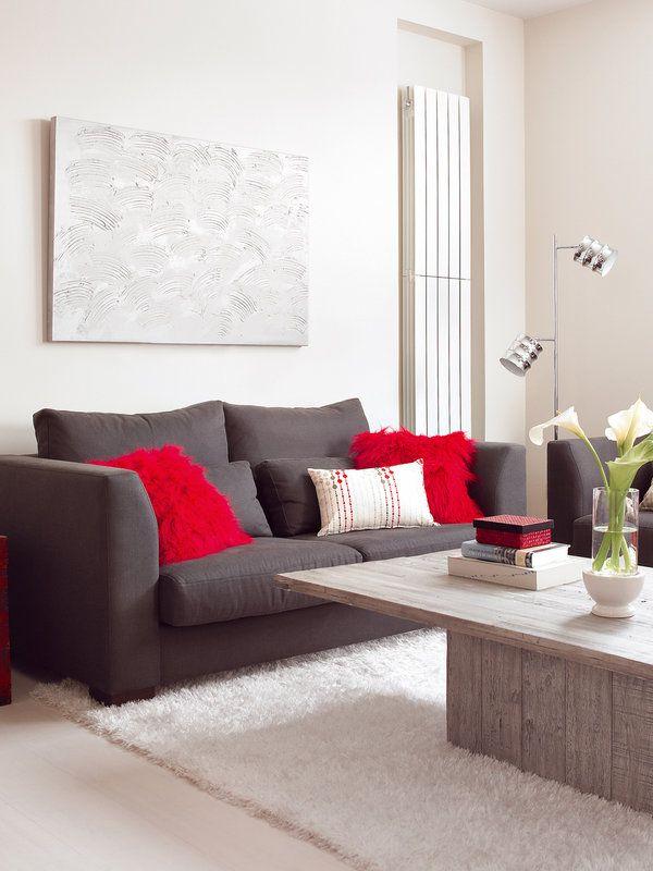#Salones modernos y actuales #sofá #mesa