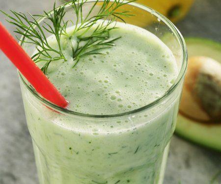Rezept: Gurken-Smoothie mit Avocado
