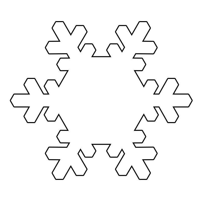 Mevsimler Kis Sablonlari Kar Tanesi Boyama Sayfalari 3d Kartlari