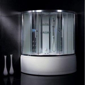 Ariel Bath Da324hf3 Platinum Steam Shower Sauna 59 X 59 With
