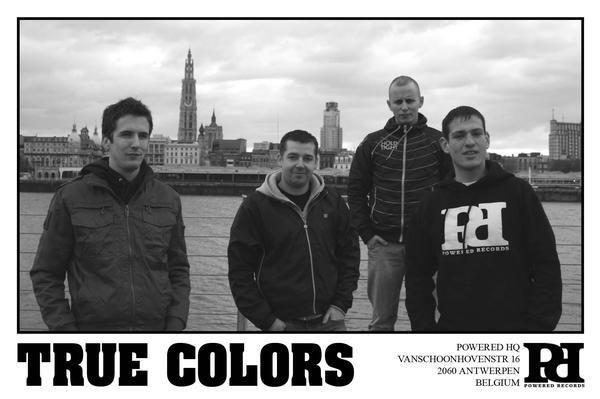 True Colors - straight edge hardcore band from Belgium