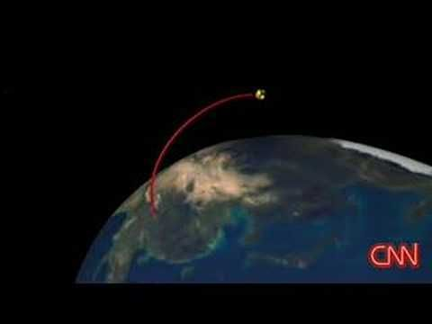 CNN: Chinese test missile shot down satellite - YouTube