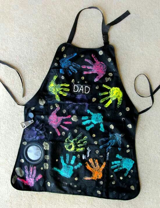 Gift idea from kids - apron