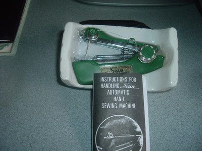New Sun Automatic Hand Sewing Machine Sewing Pinterest Delectable Sun Hand Sewing Machine