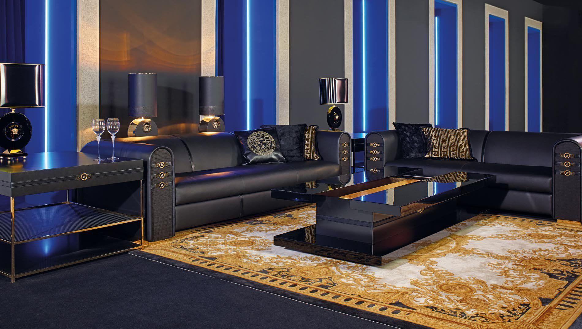 Versace Signature Sofa Luxdeco Com Home Versace Home House Of Versace