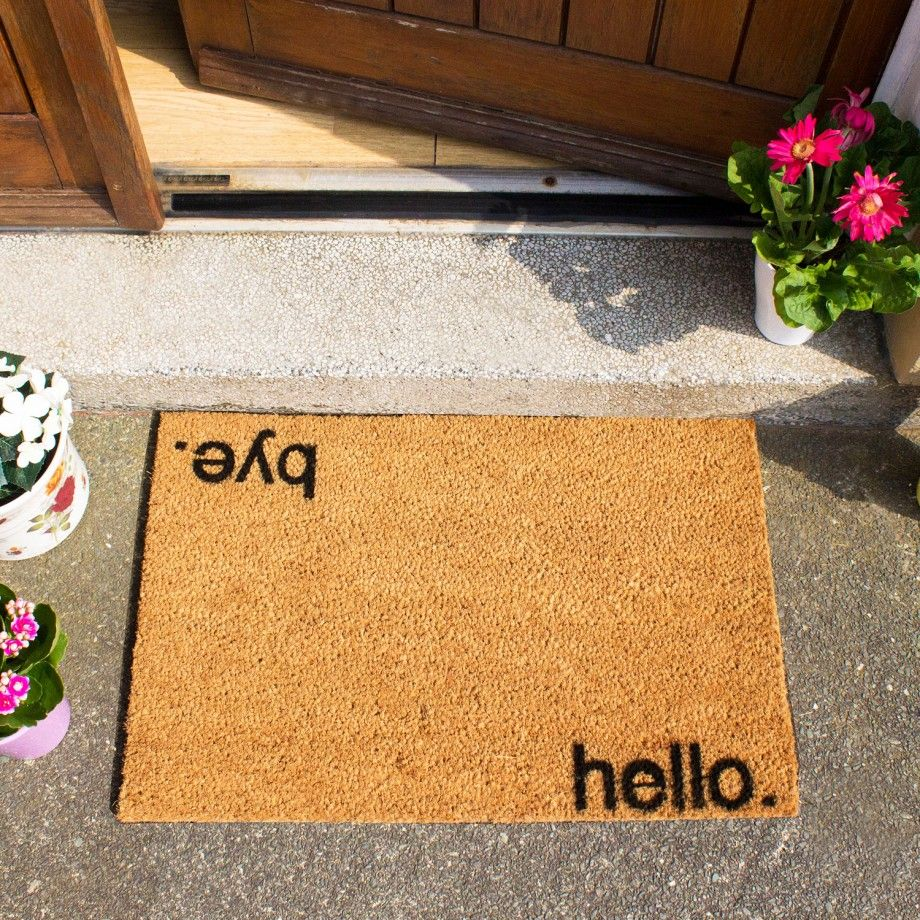 Bold Amp Quirky Doormats By Artsy Designed In Great Britain