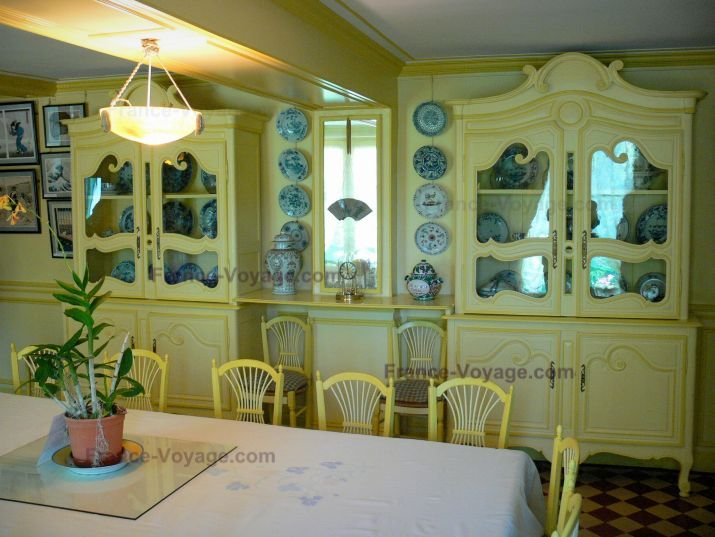 Monetu0027s Dining Room Photo   Claude Monetu0027s Home In Giverny   Google Image  Result For Www