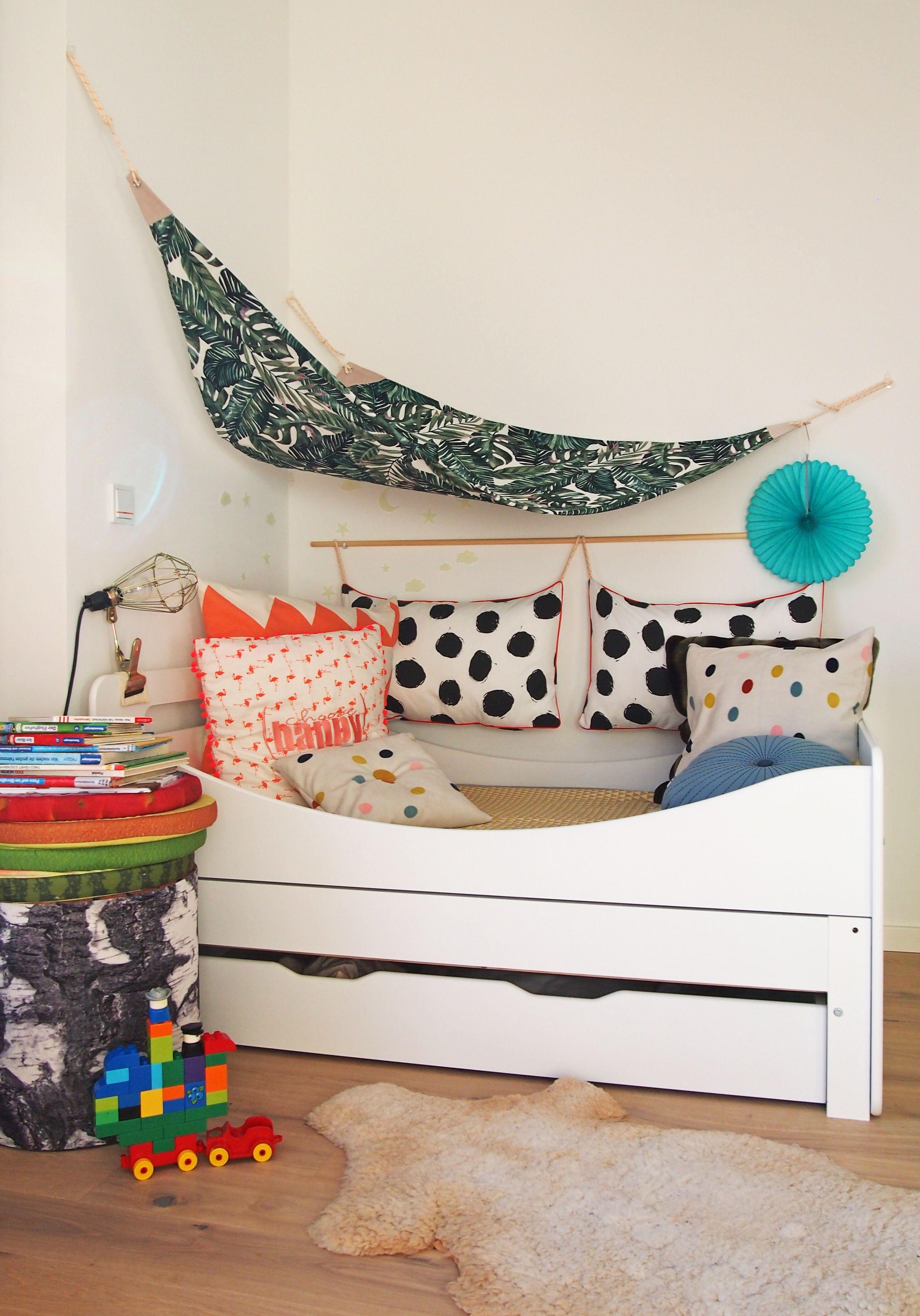 Schwarz und Weiss im Kinderzimmer - Möbel-Make-Over mit Tafellack ...