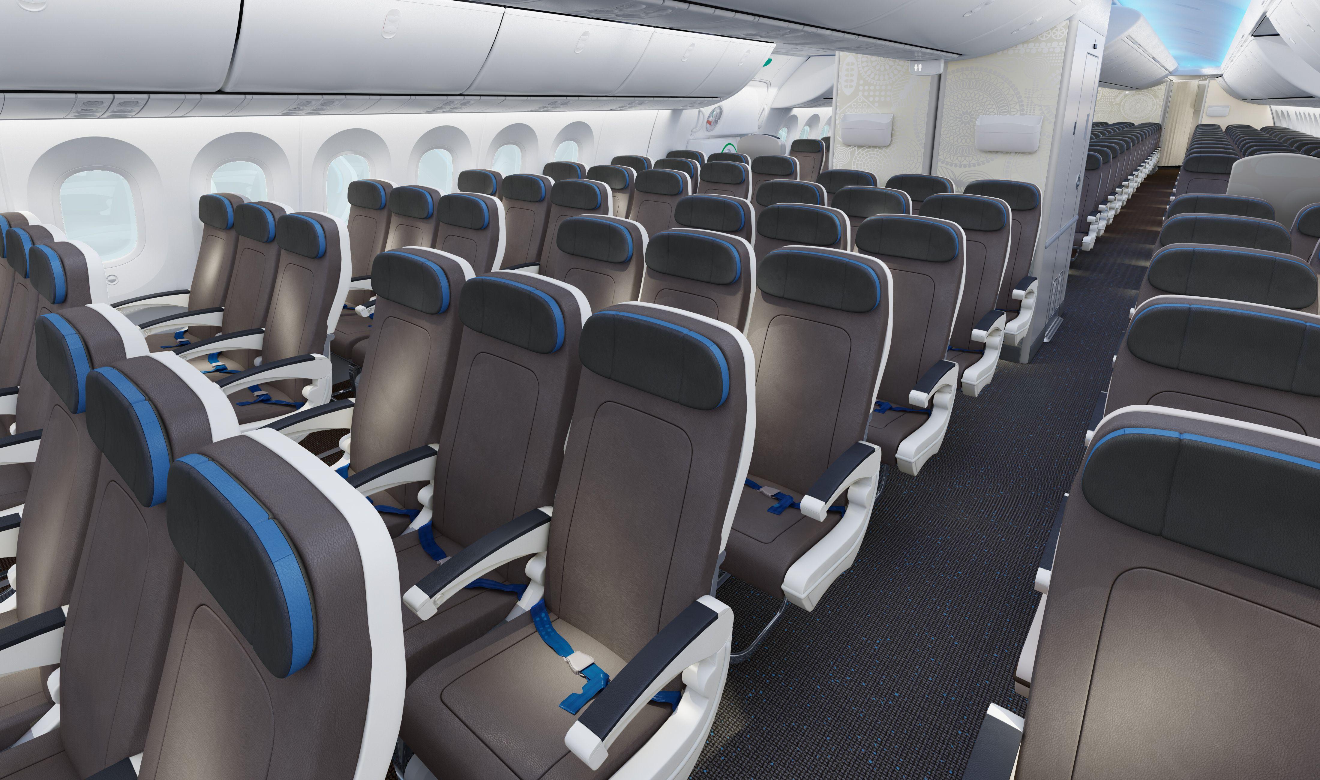 Boeing 7879 Dreamliner Economy Class