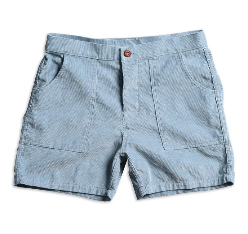 Corduroy Shorts - Light Blue #lightblueshorts
