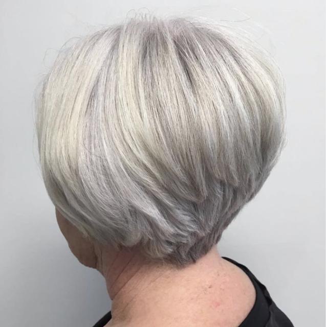 Short Haircuts For 70 Years Old Woman Bob Hairstyles For Thick Cool Hairstyles Womens Haircuts