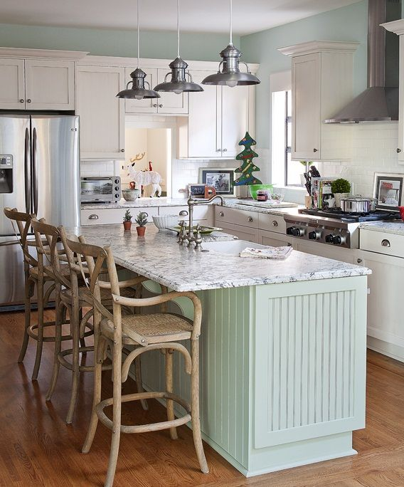 Cottage Kitchen Countertops: Creative Christmas Cottage Decorating Ideas : Awesome