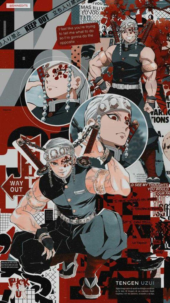 Tengen Uzui Hd Wallpaper Fhdpaper Com Ilustrasi Karakter Manga Anime Gambar Karakter Collection of the best tengen uzui wallpapers. manga anime