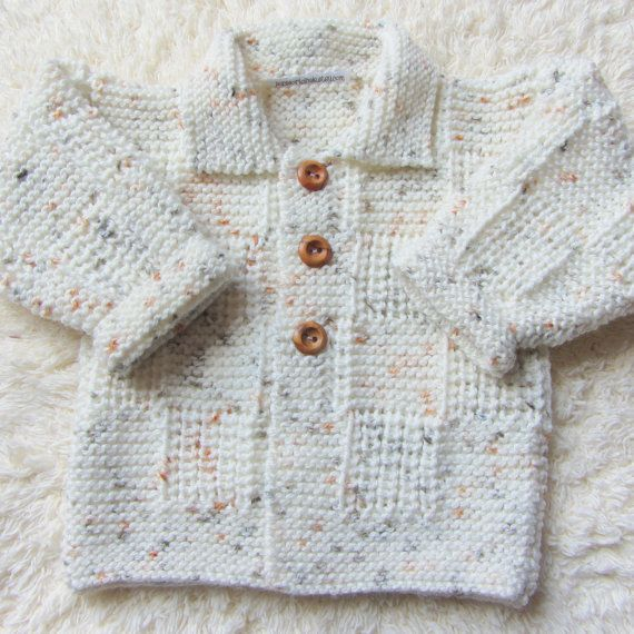 Hand Knitted Baby Set by jayceeoriginals on Etsy