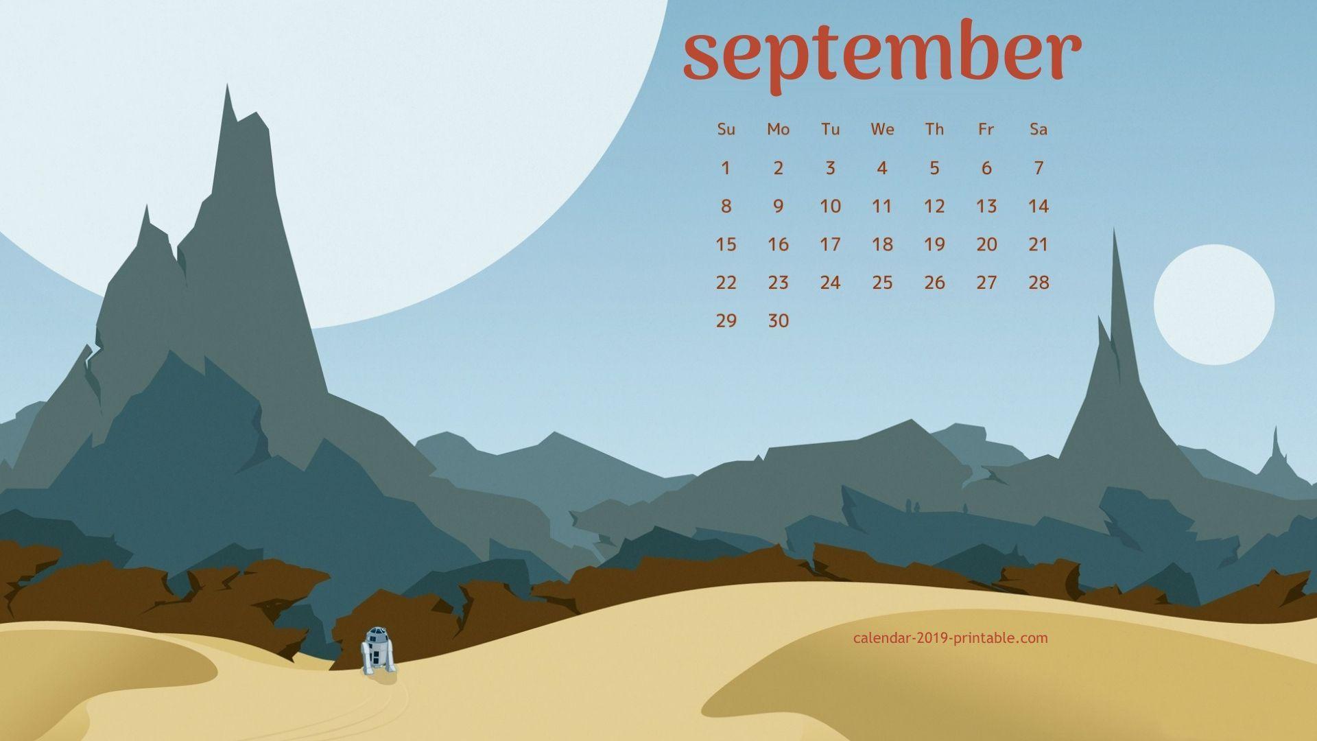 September 2019 Pc Background Wallpaper 2019 Calendars In