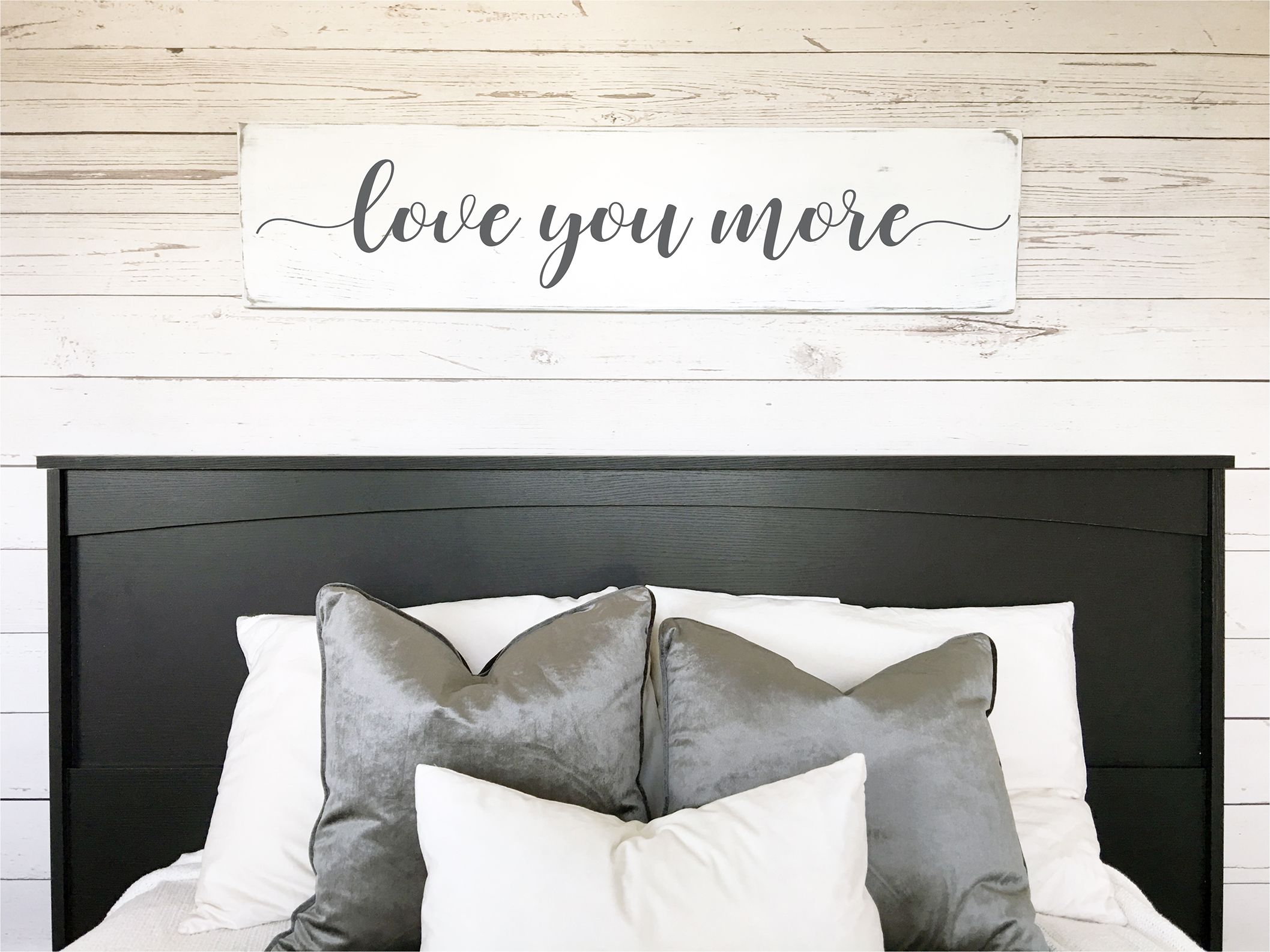 Love You More Bedroom Decor | Gift For Wife | Gift For Husband |  Anniversary Gift