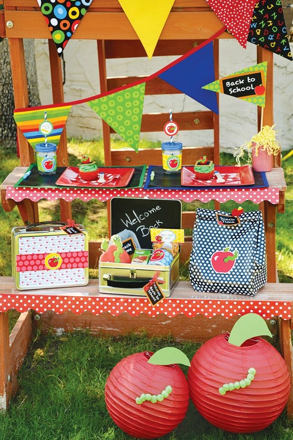 Back to School Party Ideas {+ FREE Printables} // Hostess with the ...