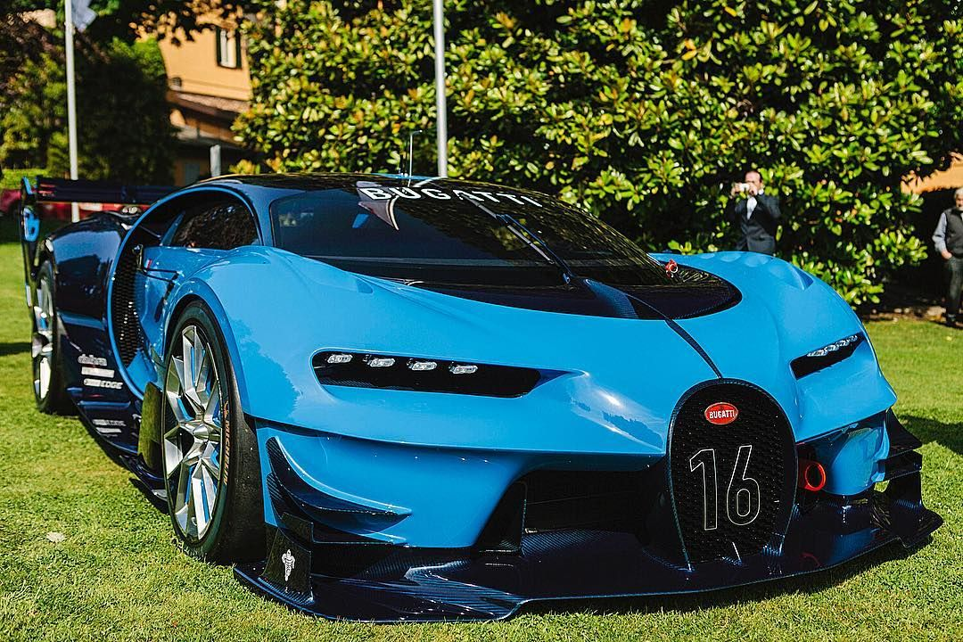 Badass Bugatti Vision Gran Turismo Tag a friend! Via: Autogespot #Bugatti #Chiron #Bugattichiron ...