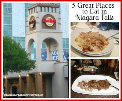 5 Great Places to Eat in Niagara Falls New York #autumninnewyork