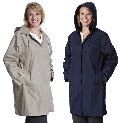 TOTES WEATHER STOPPERS WOMEN'S RAINCOAT W/REMOVABLE HOOD (M, Navy) Totes http://www.amazon.com/dp/B00DH21HZK/ref=cm_sw_r_pi_dp_n6INtb1VRDXY885R