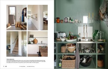 Gina Portman Of Folk At Home Featured In Country Living S Modern Rustic Bookzin Rustic Modern Rustic Home Modern