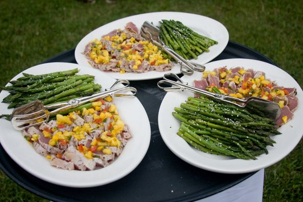 Wedding Dinner :: To Family Style or Not | Meat platter, Wedding ...