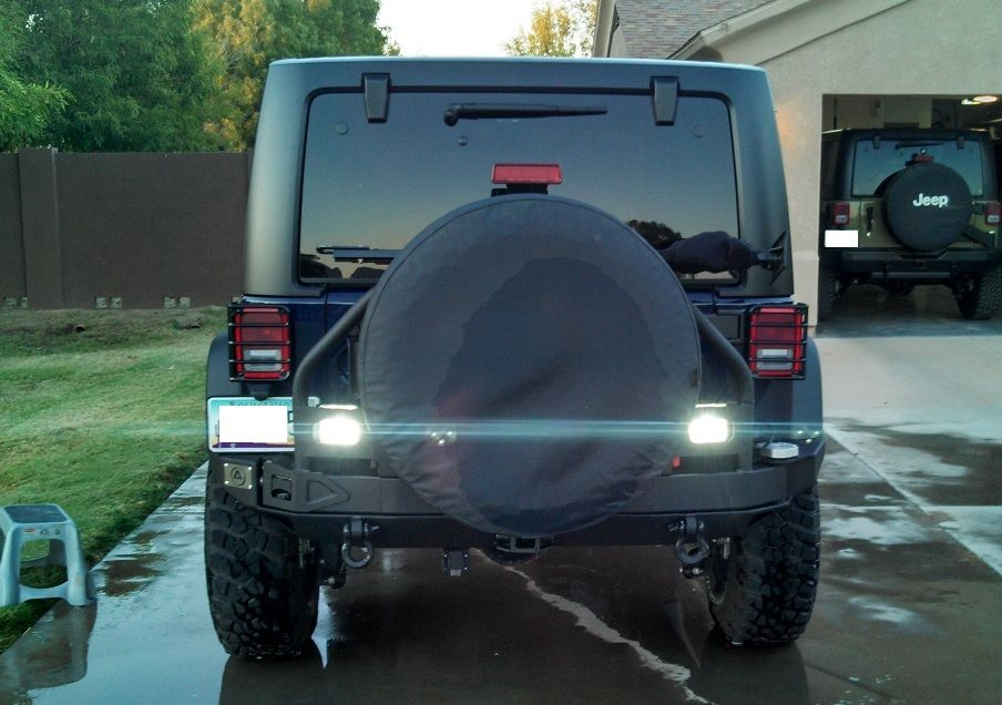 Smittybilt 76896 Xrc Atlas Rear Bumper Install With Lights Smittybilt Installation Bumpers