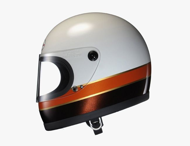 Motorcycle Helmets With Old School Looks New School Safety Motorcycle Helmets Vintage Helmet Motorbike Helmet