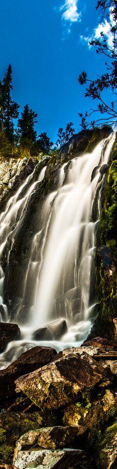 pearl pass waterfall  -  photo by thomas o'brien