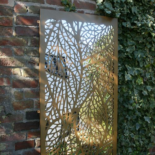 Decorative Interior And Exterior Laser Cut Panels In Exclusive Flower  Styles And Floral Designs Perfect As Garden Screens Or Room Partitions.