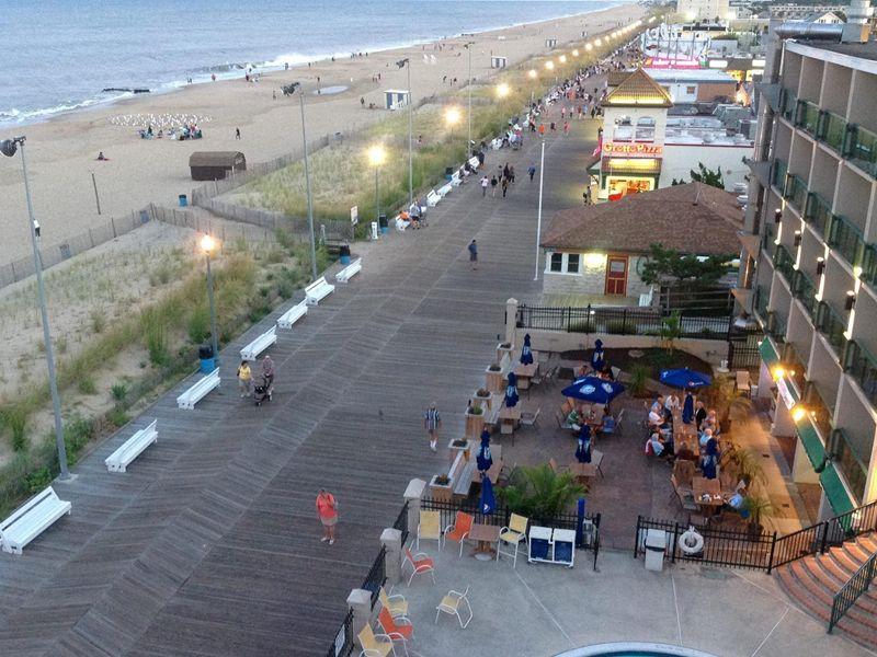 Rehoboth Beach Boardwalk Delaware Beach Vacations