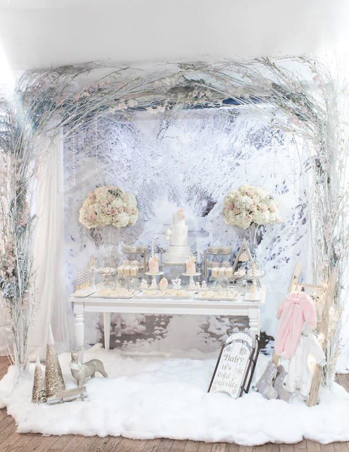 Winter-Wunderland-Babyparty - #babyparty #winter #wunderland - #new #winterwonderlandbabyshowerideas